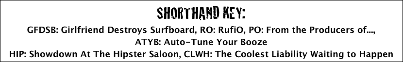 SHORTHAND KEY: